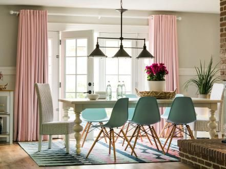 See how a humble dining room can be easily transformed into a multipurpose space for the entire family.