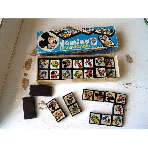 altes+Disney-Domino+von+Harry+&+Sally+-+Wohn-+und+Geschenkideen+auf+DaWanda.com