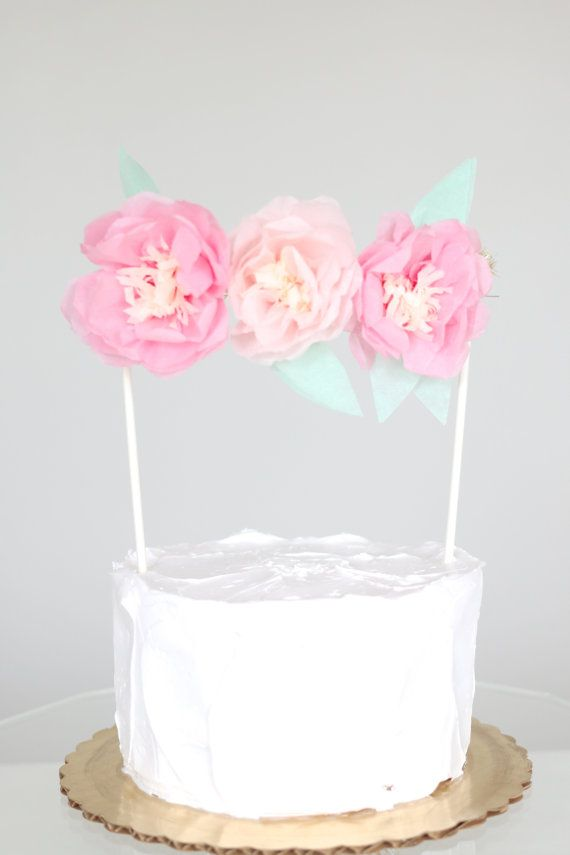 Flower Wedding Cake Topper Ideas Best About Toppers On