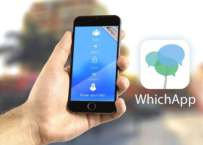 WhichApp Chat: anonimato e sicurezza made in Italy