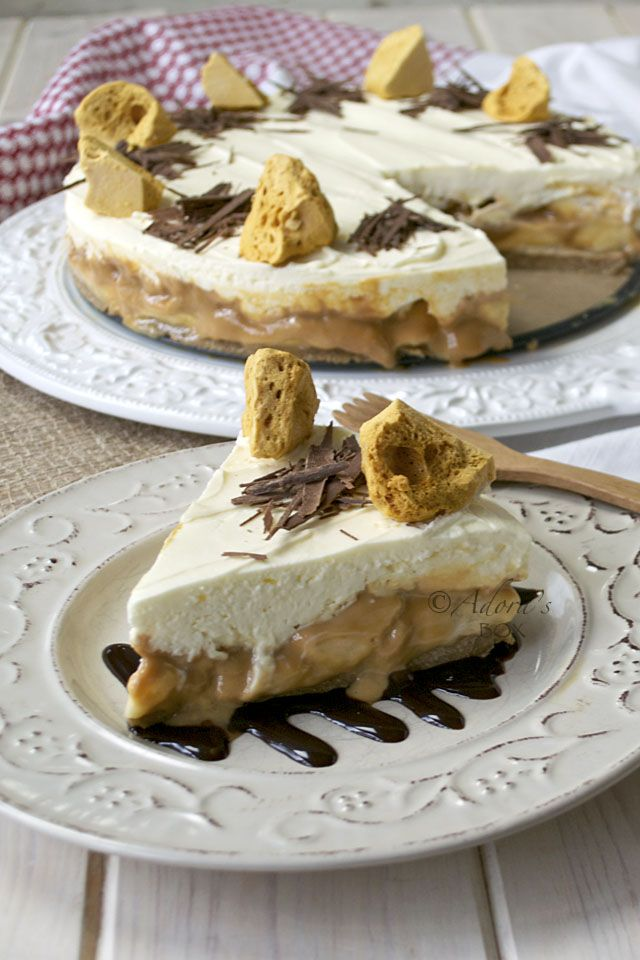 ADORA's Box: EASY BANOFFEE CHEESECAKE
