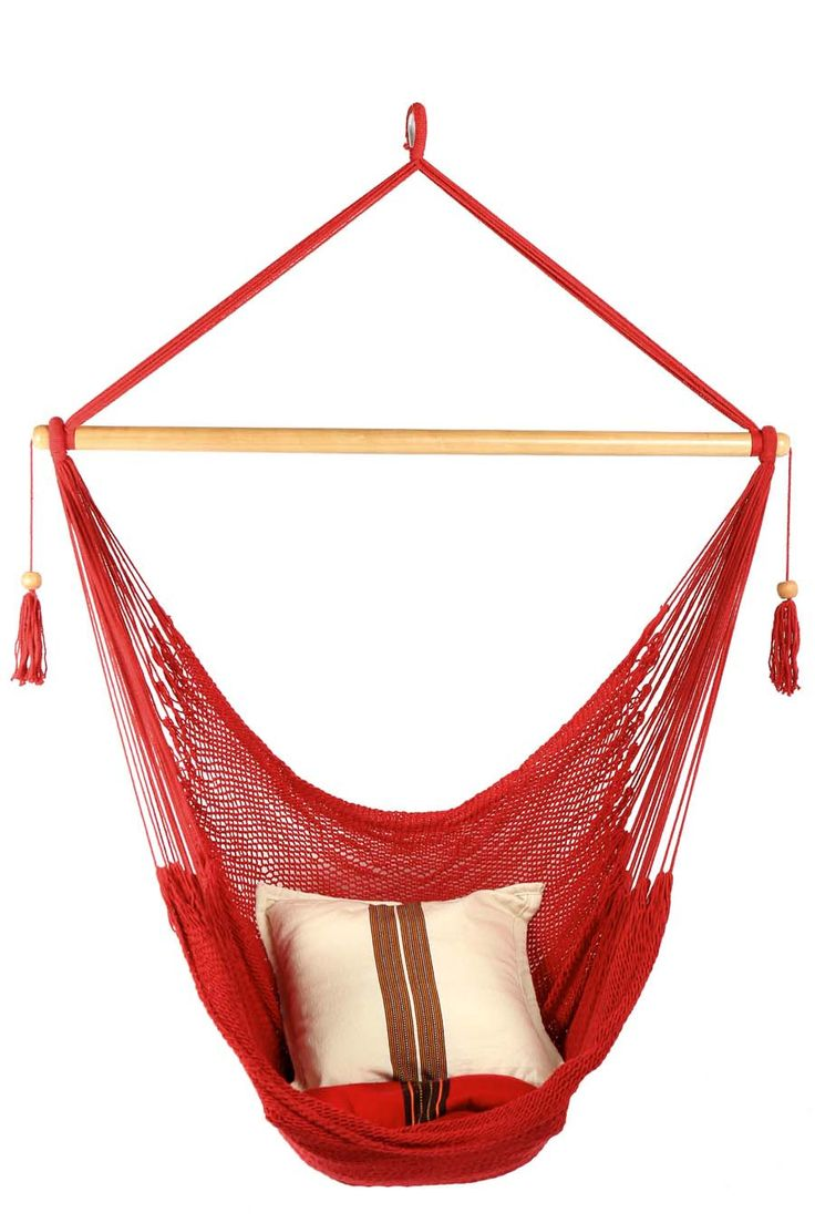 Hammock Chair - Red from The Stylish Camping Company