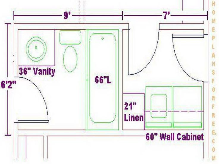 Room Layout Design possible bathroom layoutallow width of more than 7 ft and one