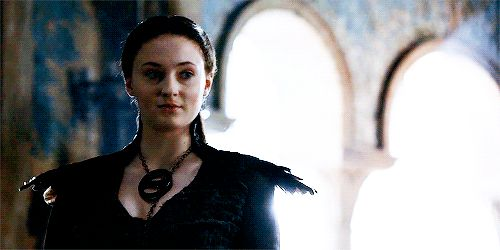 """Sansa helps Petyr Baelish keep his power in the Vale and becomes the acting Lady of the Eyrie. 