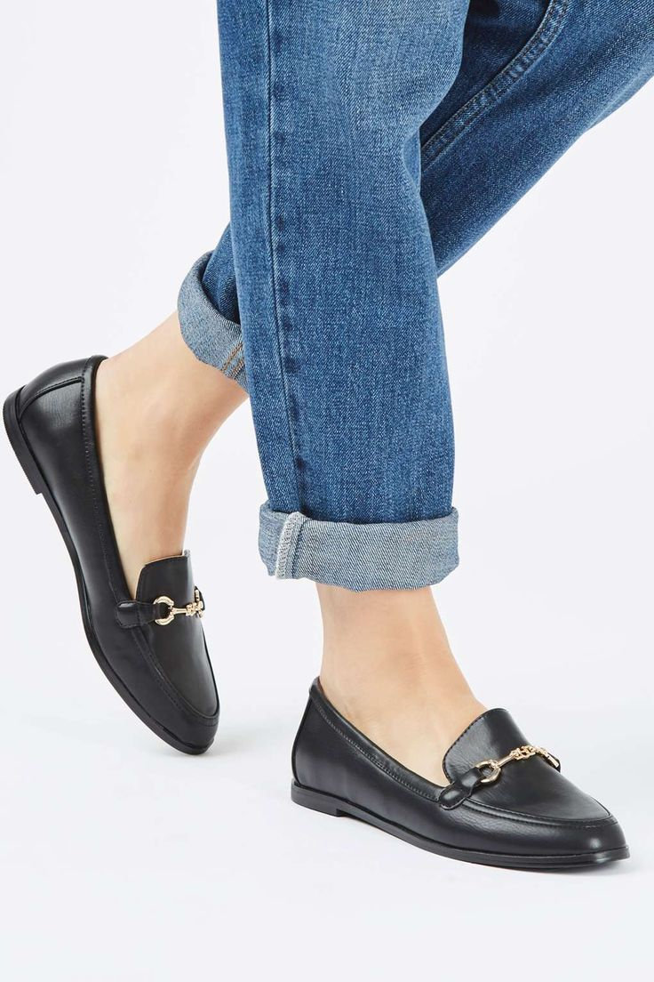 LUCY Snaffle Loafer - Topshop Size 9