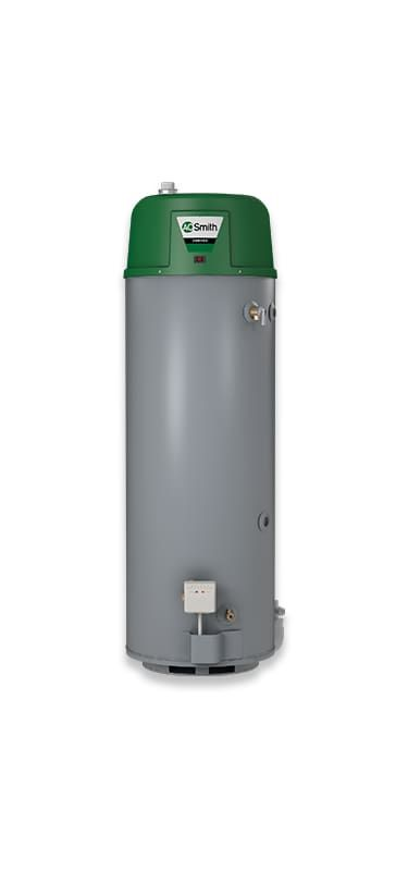 AO Smith AGPHE5000L010000 50 Gallon Residential Natural Gas Water Heater with 76 Water Heaters Whole House Gas/Propane