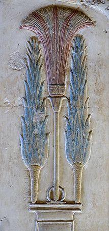 'Lettuces of Min at Abydos.' #Egypt (so elegant!)