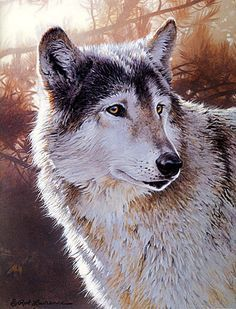 Free Acrylic Painting Lessons pet portraits | wolf painting, acrylic painting lesson, wildlife painting tutorials ...