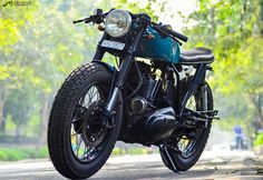 Royal Enfield Std 350 Cafe Racer by Young Kid Customs - ThrottleQuest