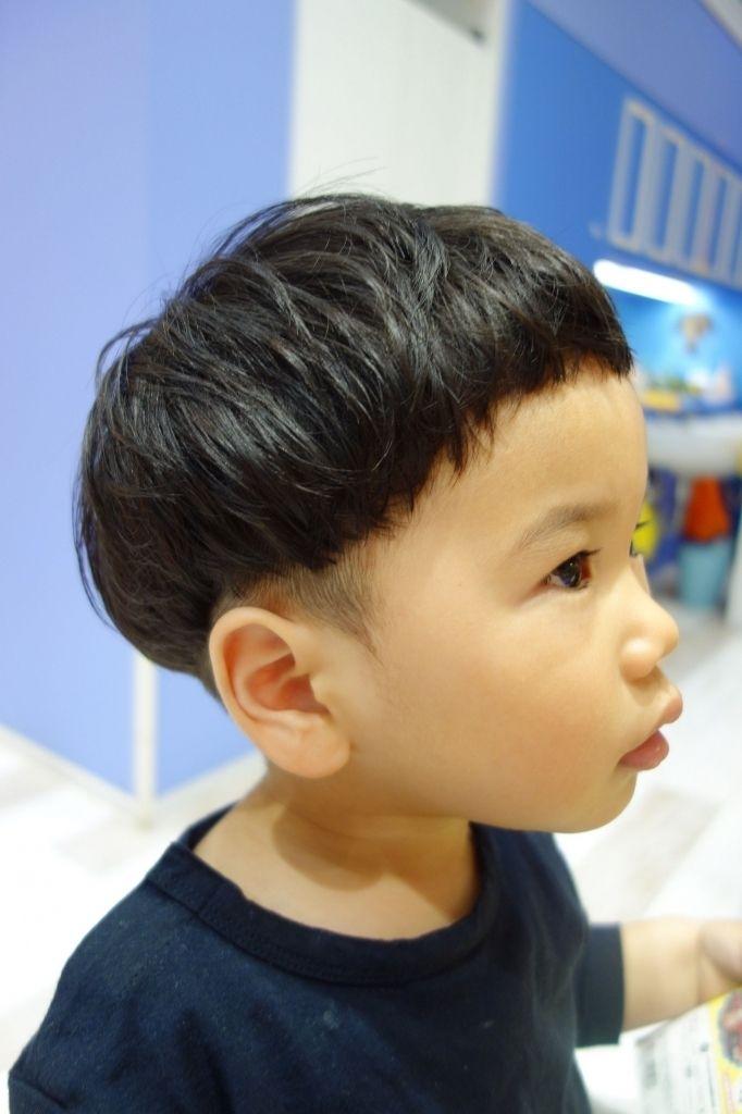 くせ毛 子供 髪型