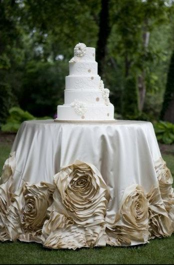 Hey, I found this really awesome Etsy listing at https://www.etsy.com/listing/204563137/satin-champagne-rose-tablecloth wedding cake table $135.00