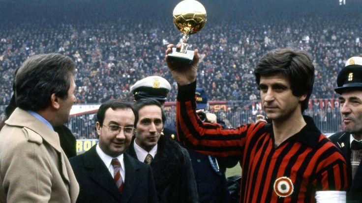 Gianni Rivera (Milan AC. Italie). Ballon d'Or 1969.