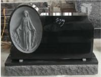Black Granite Tombstone Design