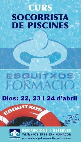 Cursos de Formación Profesional del 2º trimestre.  Información e inscripciones en Esquitxos o al 971559155. http://www.esquitxos.com/Formacion.html