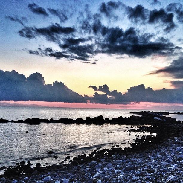 Tramonto a Marina di Massa [ original pic @myartistick ]