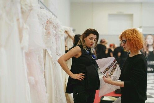 Made Bride by Antonea: Ode to Whispering Veils collection- Backstage