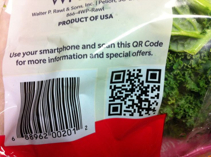 """The same people who would actually scan a QR code on the back of a bag of kale are the same people who would legitimately enjoy becoming Facebook friends with kale. So this actually works out pretty well.  Submitter's note: You want me to pause my salad so I can """"like"""" you on Facebook? AW KALE NO."""