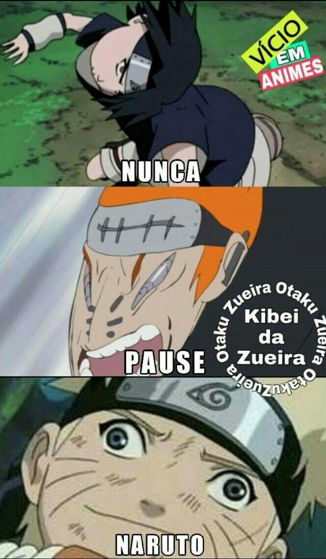 Não pause Naruto