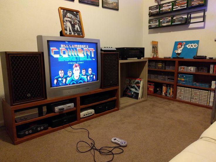 Best Gameroom Ideas Images On Pinterest Gameroom Ideas Video - Retro games room ideas