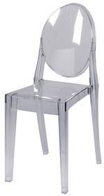 Stoel 39 victoria ghost 39 transparant ontworpen door philippe starck design meubilair huren - Transparante stoel kartell ...