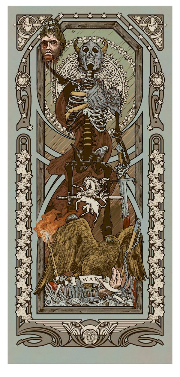 "Ryan Begley, ""Reapers of the Apocalypse ~ War"""