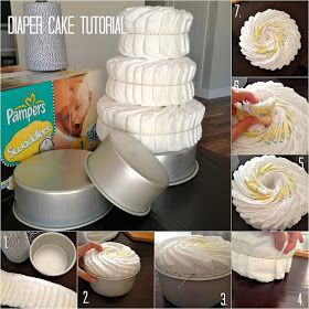 Domestic Charm: Diaper Cake Tutorial