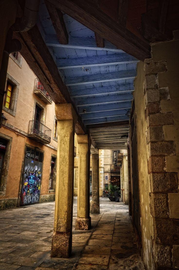 Barcelona  Barri de la  Ribera  Catalonia by Elvicast