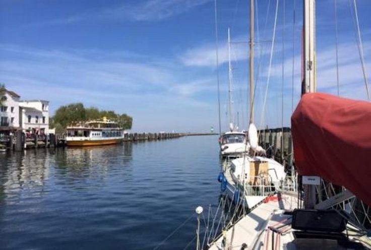 Hafen Warnemünde in Rostock, Mecklenburg-Vorpommern