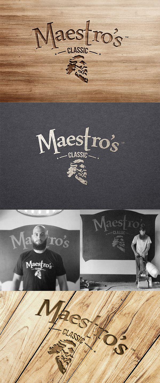 Maestro's Classic Logo & Label Design on Behance