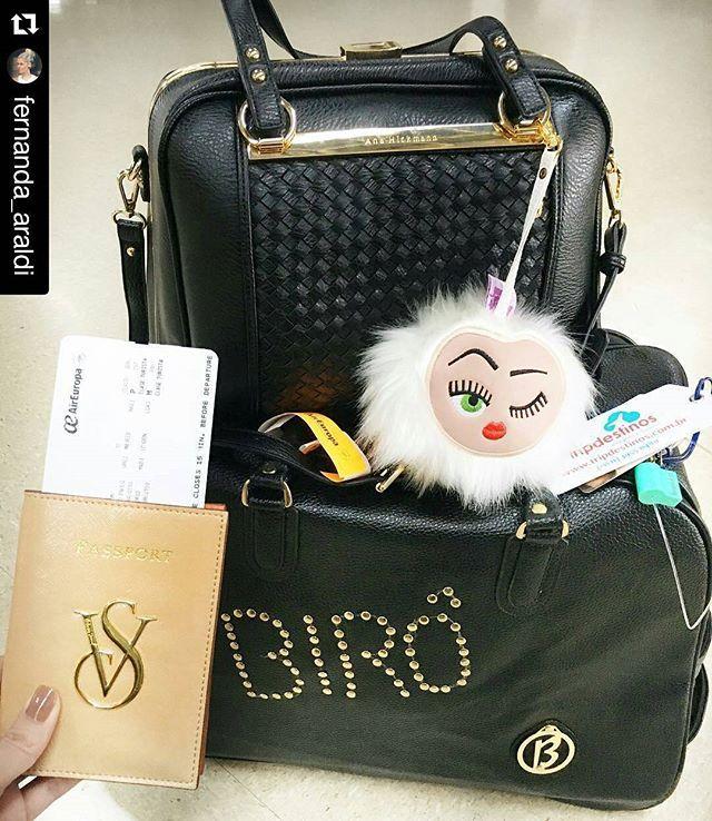 Olha só que está embarcando para Londres com a it girl Fernanda Araldi... #UsoBiro #LarissaManoelaByBiro #Laricota #Bolsa #Bag…