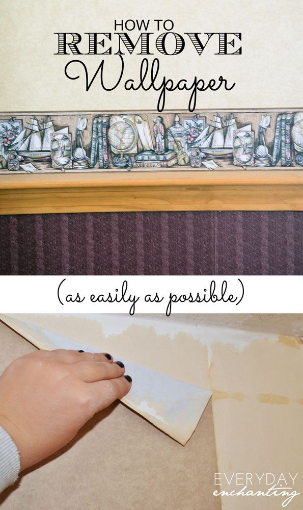 how to remove wallpaper as easily as possible - How To Remove Wallpaper Easily