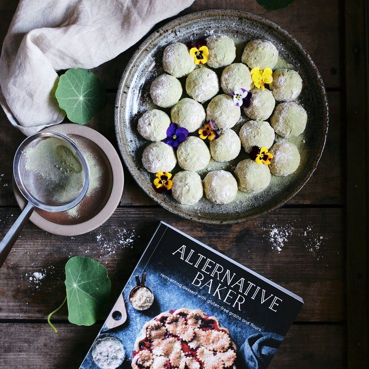 Alternative Baker // Pistachio Lime + Matcha Snowballs — Emma K. Morris