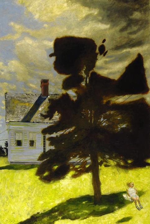 Jamie Wyeth, The Swing