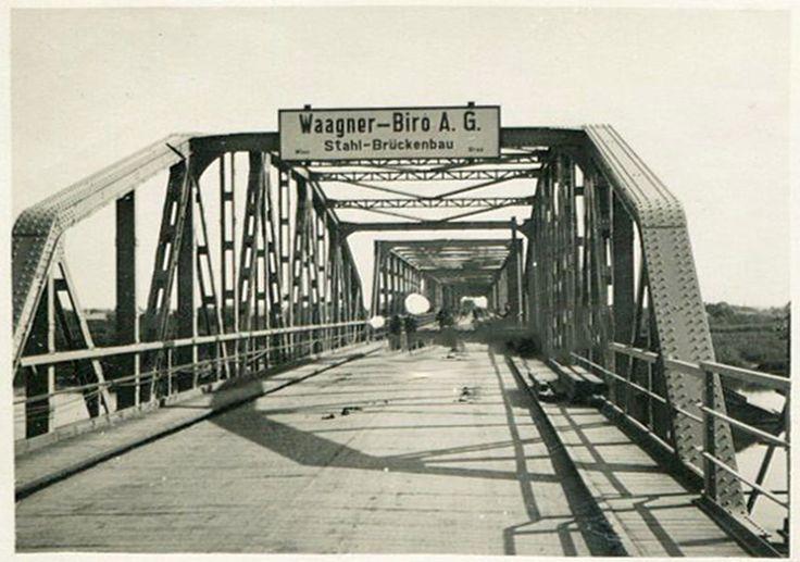 Most, Sandomierz - 1942 rok, stare zdjęcia