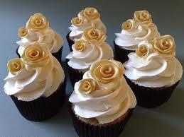 50th wedding anniversary cupcake idea