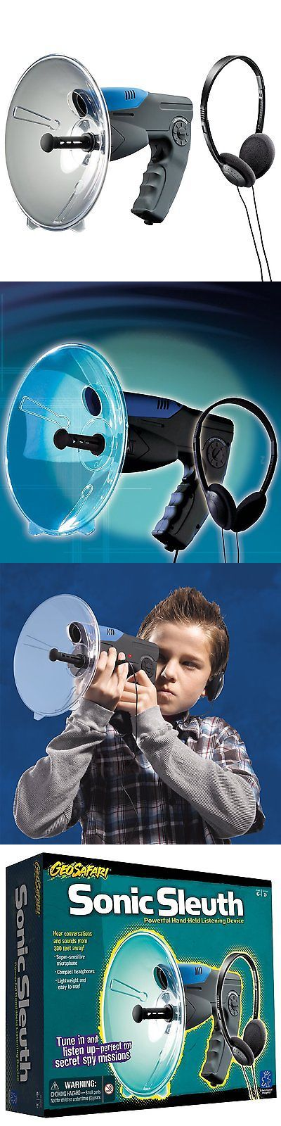 Surveillance Gadgets: Parabolic Microphone Spy Listening Device Bionic Ear Sound Amplifier Gadget 300M BUY IT NOW ONLY: $129.68