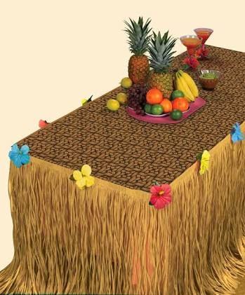Resultado de imagen para centro de mesa hawaiano