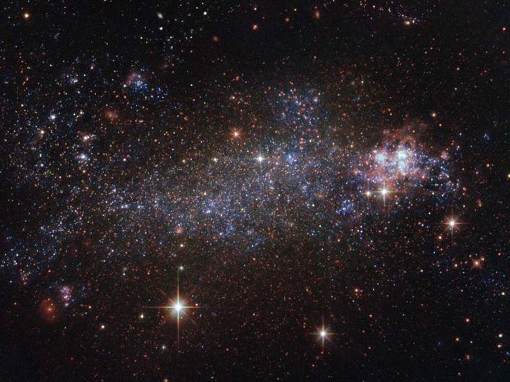 Hubble capta la galaxia irregular 5408