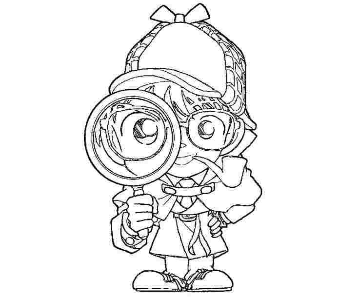 Detective Coloring Pages Free Coloring Pages Pikachu Coloring Page Colouring Pages