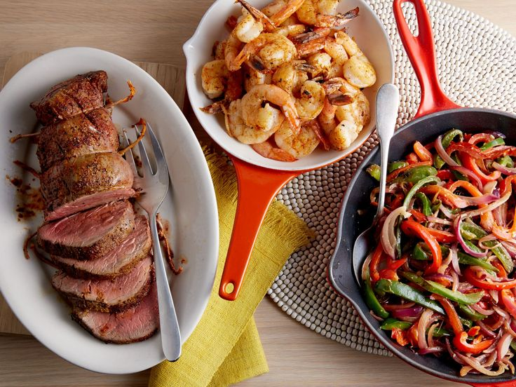 Cajun Surf and Turf recipe from Ree Drummond via Food Network (Want to try the Cajun Seasoning Mix!)