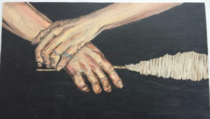 By Suzanna Dénes - Acrylic Painting (1996)