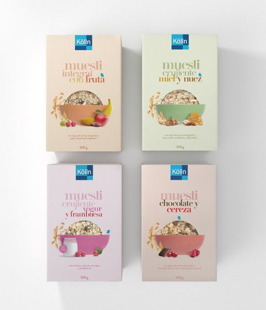 Kölln Oats on Packaging of the World - Creative Package Design Gallery