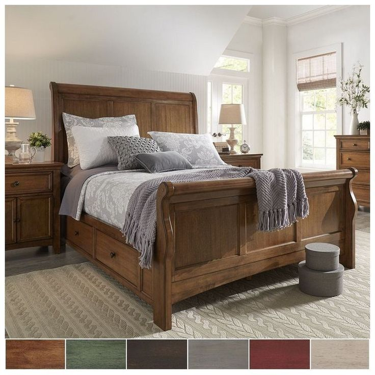 44 diy rustic modern king bed ideas 25 (With images ...