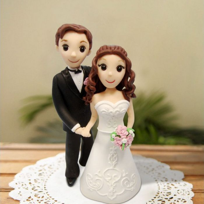 Charming Cheap Funny Wedding Cake Toppers