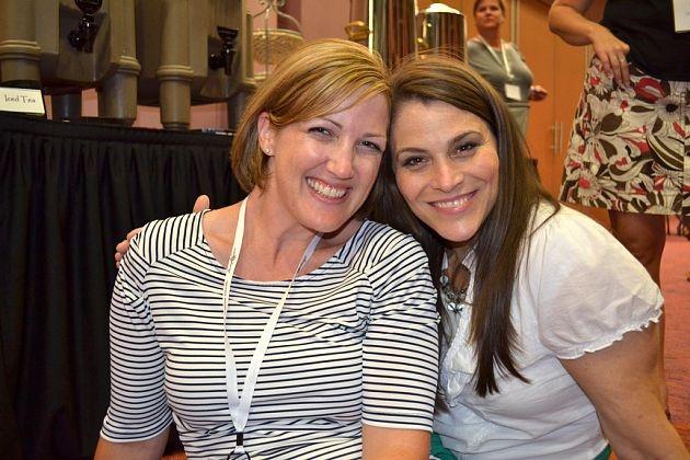 Cheryl Knutti and I at Stamp-A-Faire! Such fun!: Friends, Fun, Cheryl Knutti