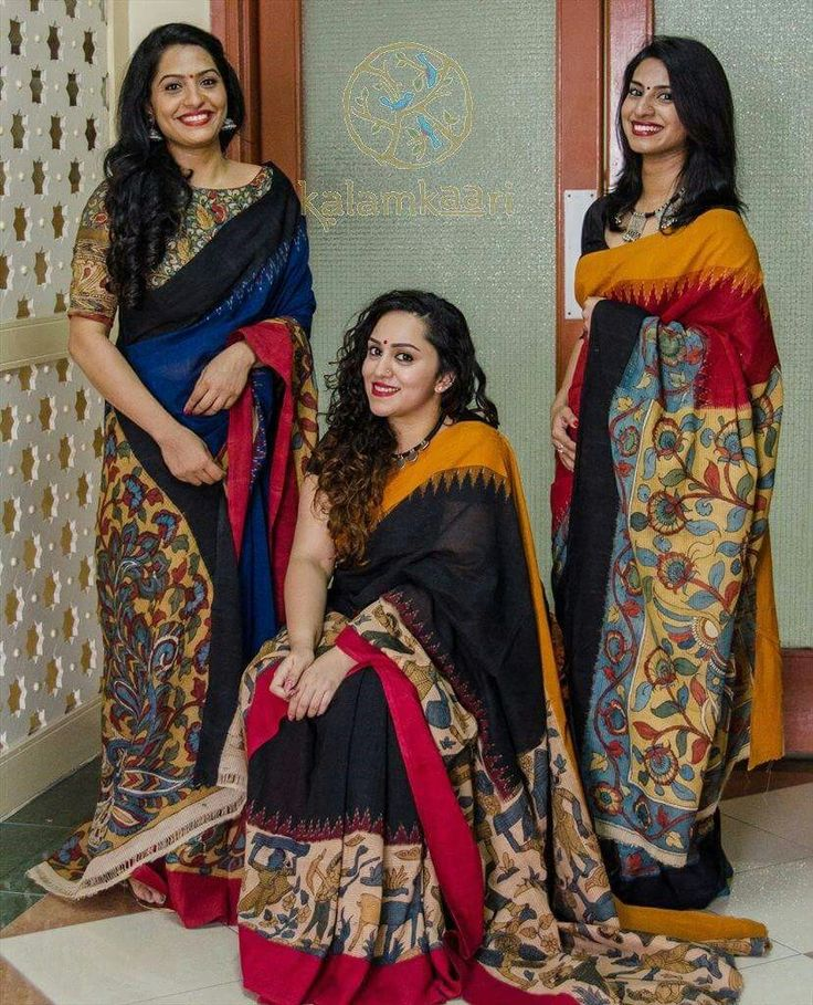 beautiful kalamkari sarees