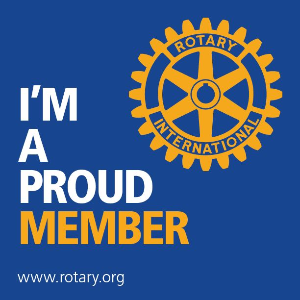 August is Membership Month at #Rotary. Share this graphic to let your friends know that you're a proud Rotarian. #WeAreRotary
