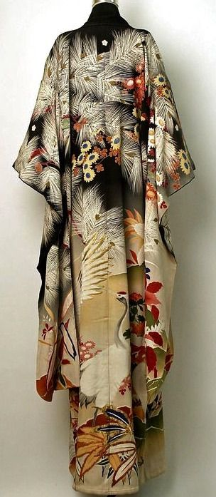 Silk Furisode c. 1900
