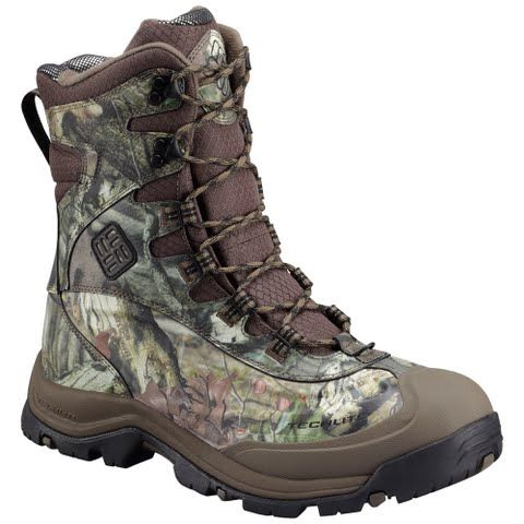 Columbia Men's Bugaboot Plus Iii Omni Heat Hunting Boot - Mossy Oak / Black: Nothing says bring it on like… #OutdoorGear #Camping #Hiking