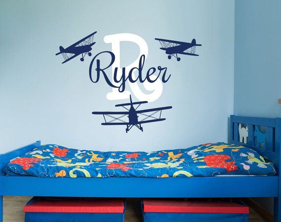 Best Name Wall Decals Images On Pinterest Name Wall Decals - Monogram wall decal for kids